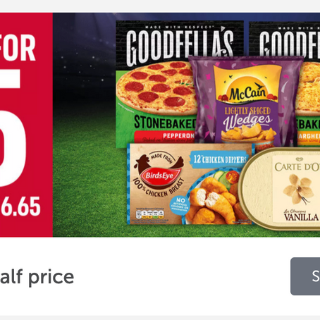 Iceland Deals Galore including £8 off a £40 Spend