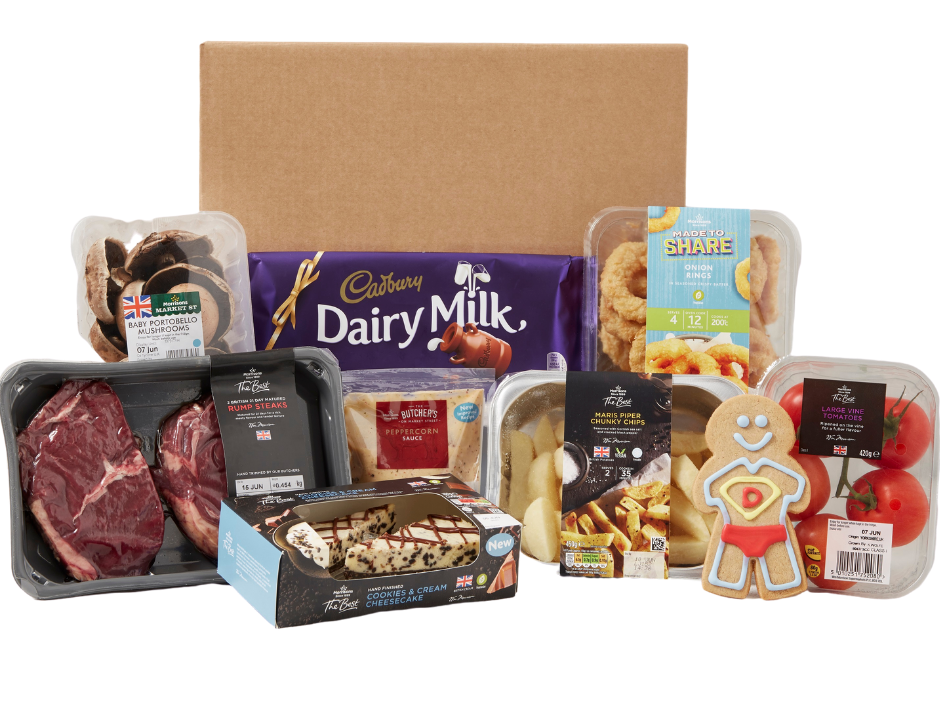 Father's Day Food Box costs £20