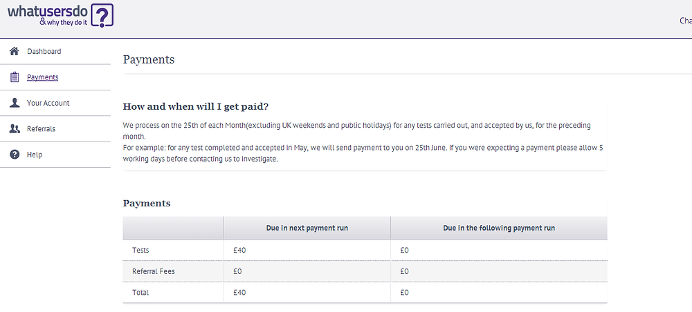 Get paid to test out websites, via your PC or mobile phone
