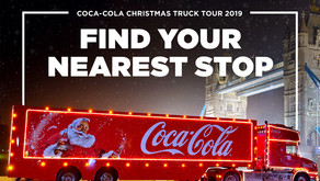 It Must Be Christmas, The Coca-Cola Truck Is Coming..