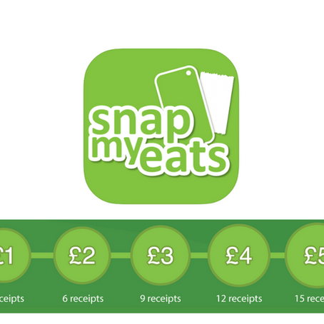 Snap My Eats - Earn £5 Every Month For Your Food Receipts