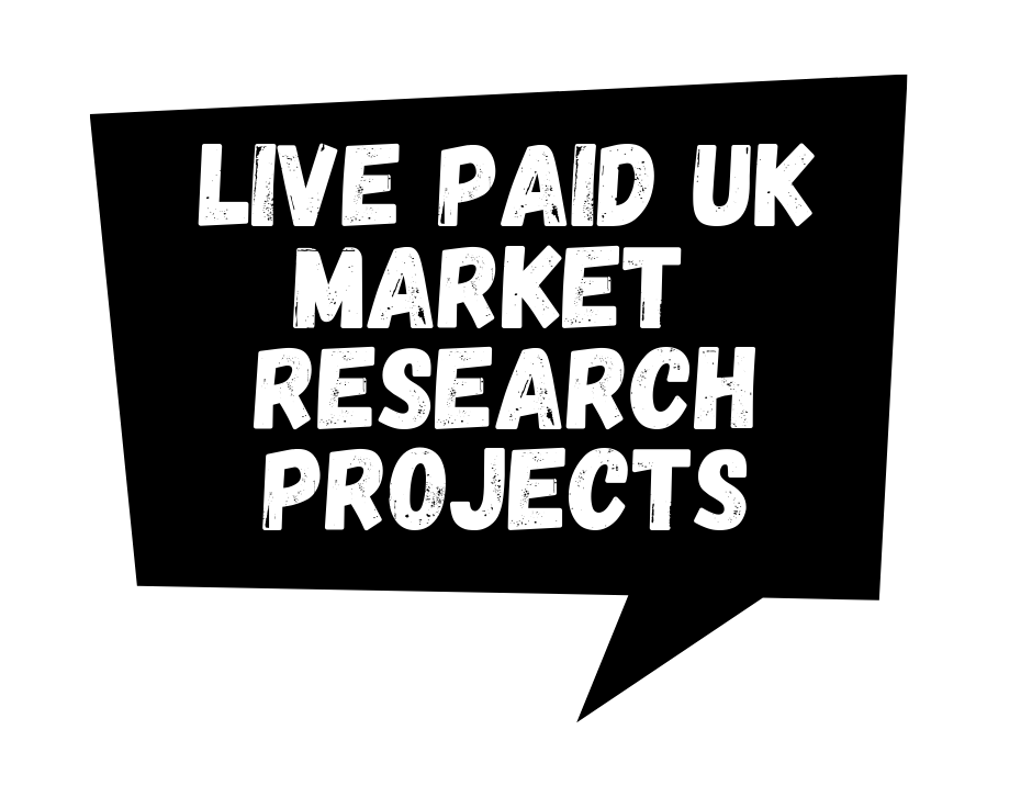Live Market Research Projects In The UK, As Of 27/10/19