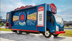 Amazon UK Treasure Truck Returns!