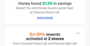 Honey - Browser Based Cash Back & Points Service