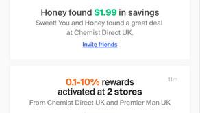 Honey - Browser Based Cash Back & Points Service