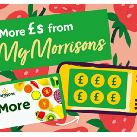 Free £5 Morrisons Voucher For Morrisons More Customers..