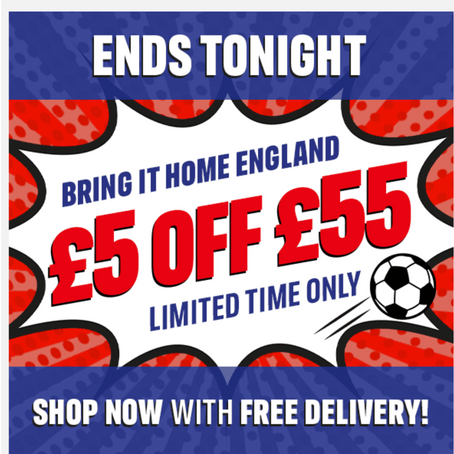 Iceland £5 Of A £55 Spend & Free Delivery - Ends 11/07/21