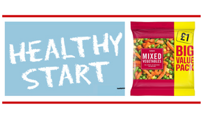 Free Vegetables For Healthy Start Voucher Recipients