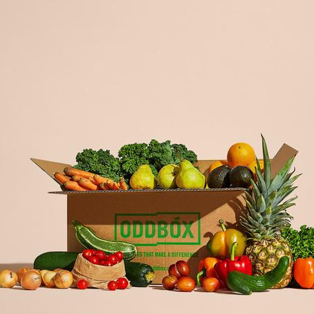 Grab £10 Off A Odd Box Rescued Fruit & Veg Box