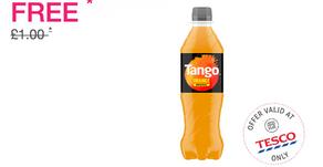 Free Orange Tango 500ml - Ends Nov 25th