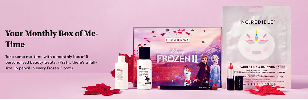 Grab a Frozen 2 themed Birchbox for just £5