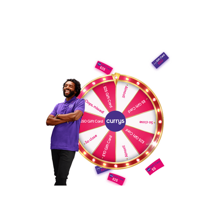 Currys 'Wheel Of Perks' Game!