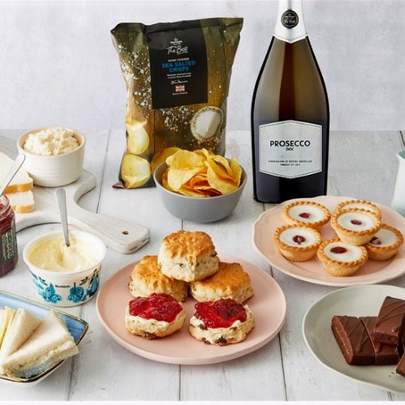 Fancy Winning Afternoon Tea, With Prosecco?