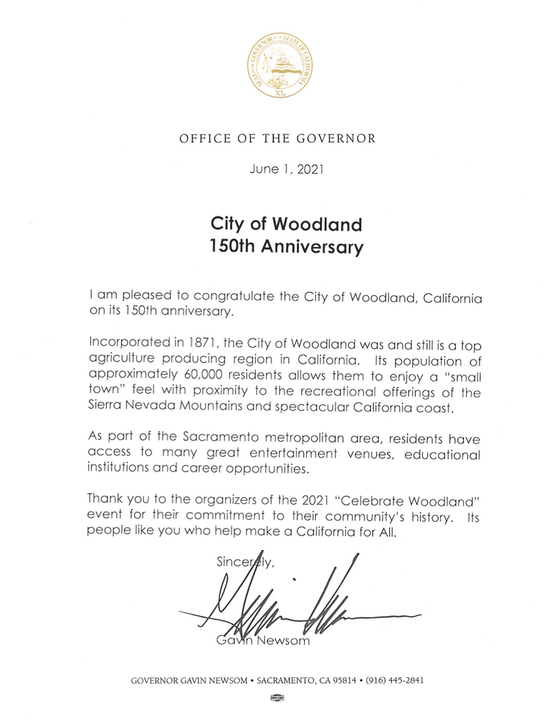 GovernorNewsomWoodland150response.png