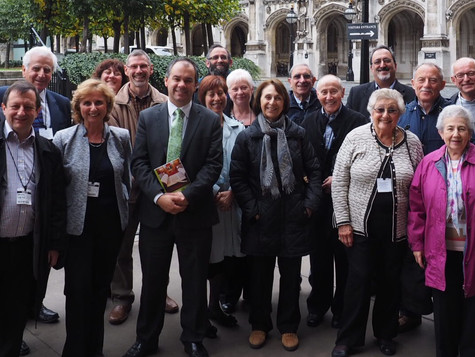 Shul Members visit the Houses of Parliament