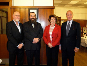 Question Time at Sutton Synagogue