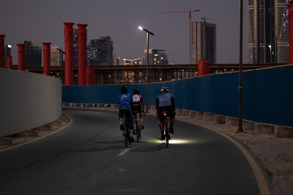 Meydan cycle track