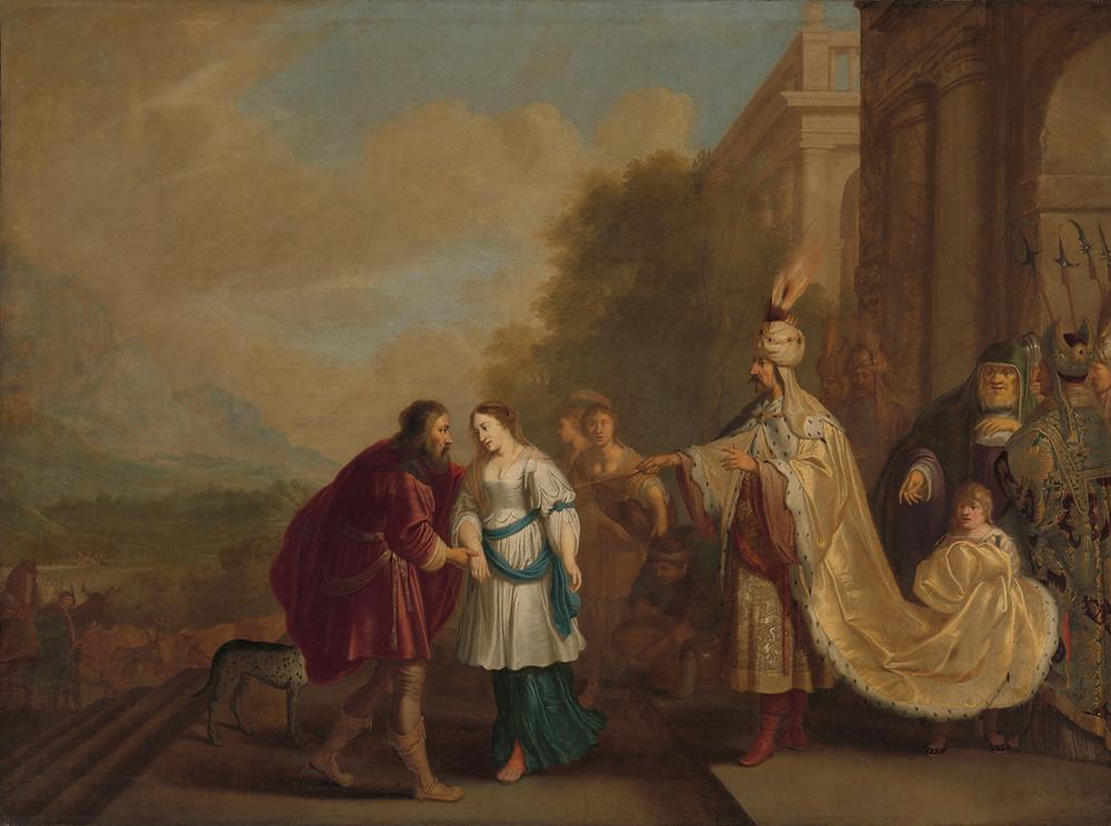 Abraham, Sarah, and Phraoh