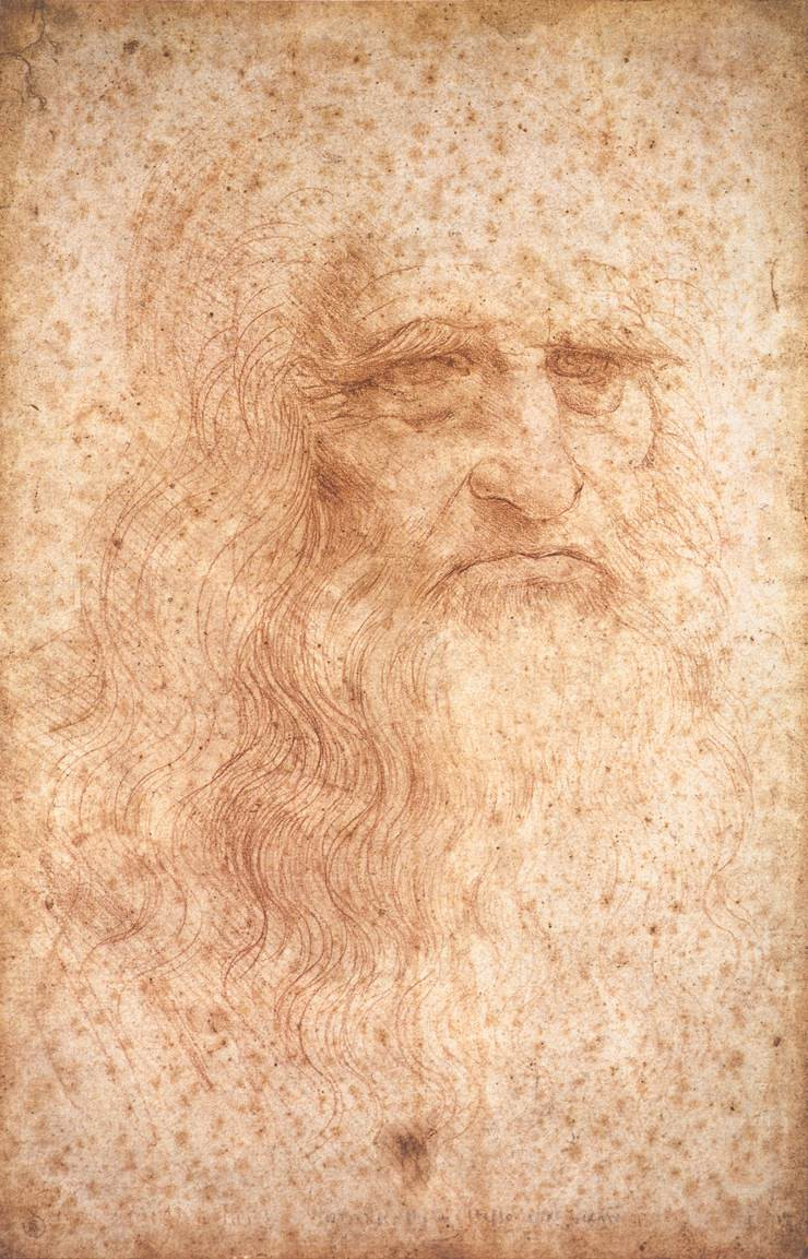 A picture of DaVinci, a Bible Artist during the Renaissance, when views of Art and the Artist underwent major changes
