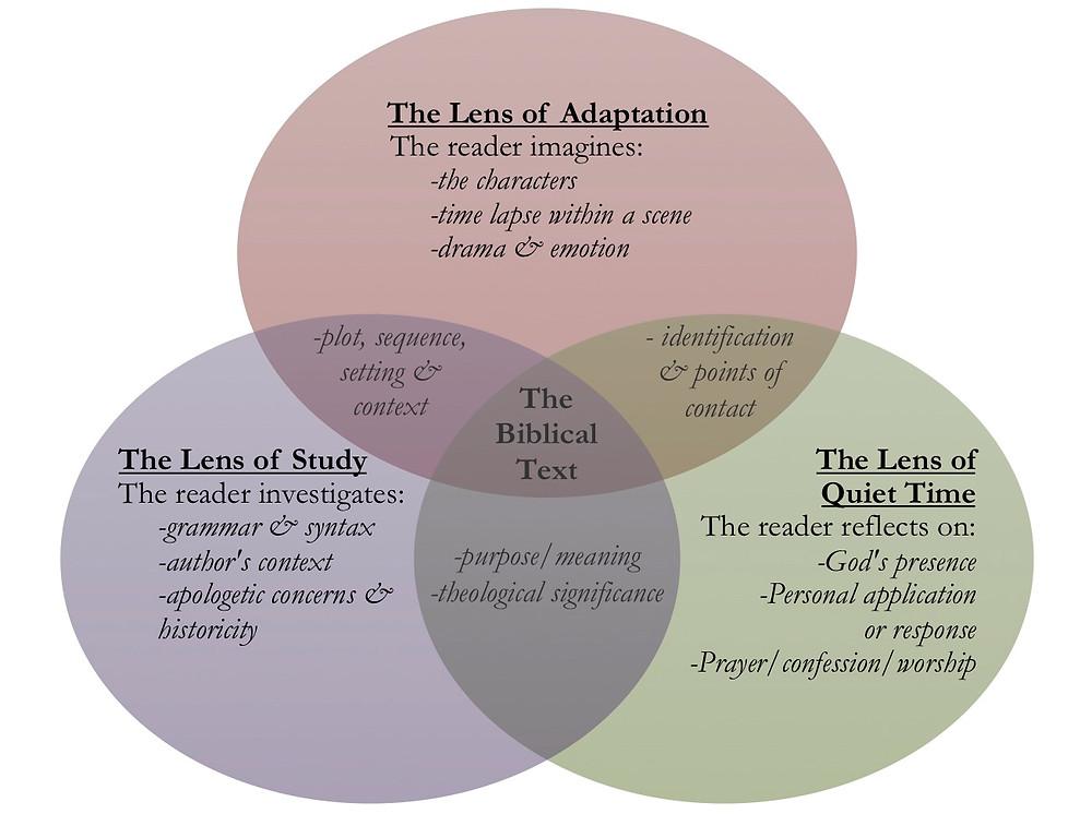 A comparison of Bible reading lenses