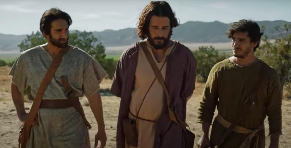 Jesus, Big James, and John