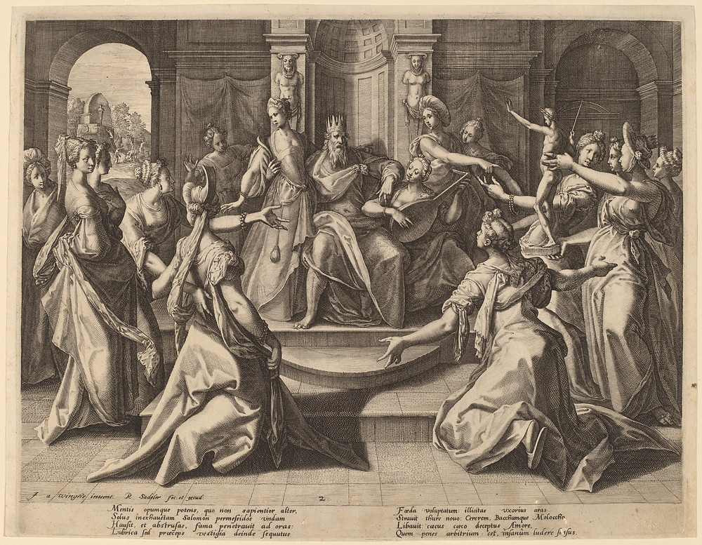 Solomon Led to Idolatry by His Wives