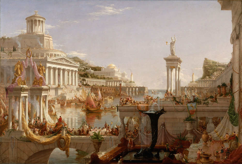 The Consummation of Empire by Thomas Cole