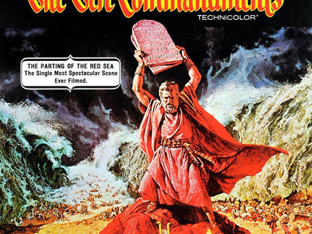 12 Bible Movie Adaptations for Easter & Passover: The Ten Commandments