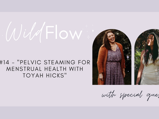 Wild Flow Podcast #14 - Pelvic Steaming For Menstrual Health with Toyah Hicks