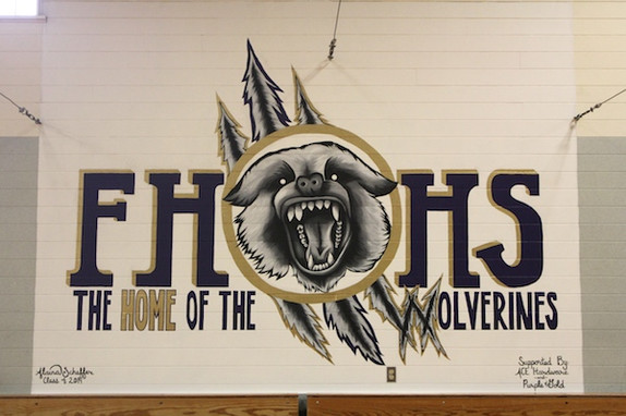 A Mural for the Hall Gym
