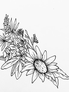 Tattoo Design Pen and Ink 2020