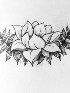 Tattoo Design  Graphite 2016