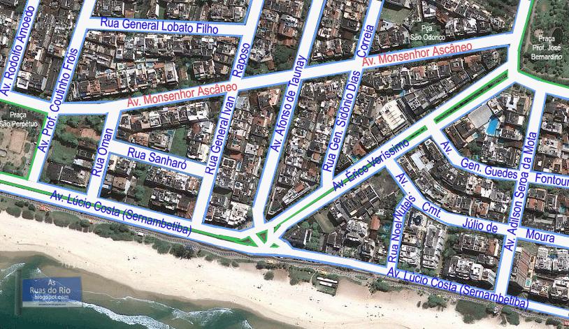 Mapa de Localização - Bairro Alvo