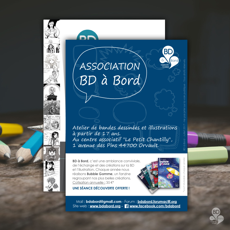 flyer - association BD à Bord