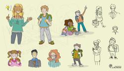 illustrations plaquette école Lacroix Signalisation