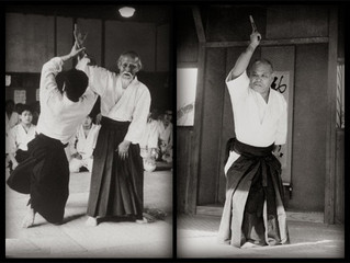 Kaiso Morihei Ueshiba e Sensei Noriaki Inoue – Aikido e Shin'ei Taido