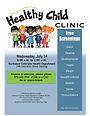 Healthy Child Clinic Flyer (Logan)_06-17