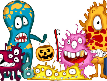 BEWARE THE MOUTH MONSTERS THIS HALLOWEEN!