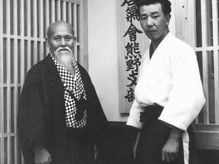 Hikitsuchi Sensei e Ueshiba O'Sensei