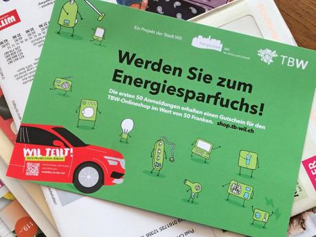 Werden Sie zum Energiesparfuchs
