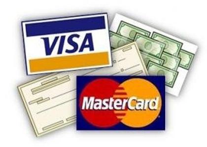 Do you accept credit cards or checks?