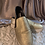 Thumbnail: Gold Boat Shoe - Size 9