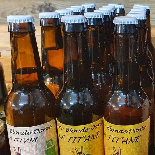 Tit'Âne - Bière au miel - 33 cl