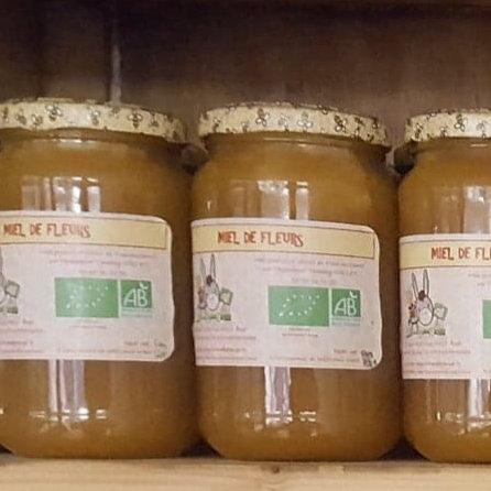 Miel de fleurs - 500 g
