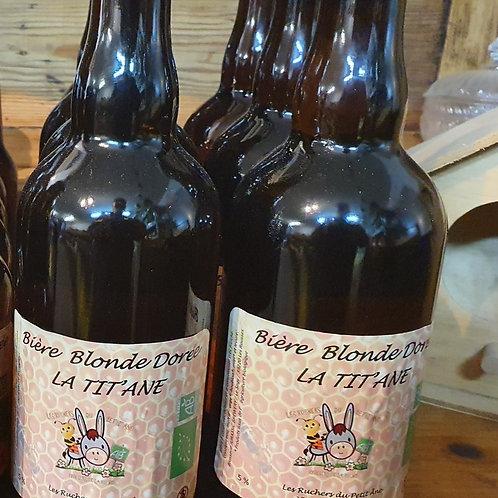 Tit'Âne - Bière au miel - 75 cl