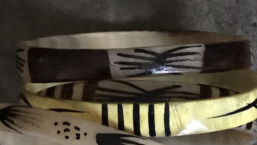 Ethnic Style Bracelets (set)