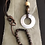 Thumbnail: Wooden Sea Shell Leather Handmade Necklace And Bracelet