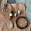 Thumbnail: Brown Geode Stone Necklace Set