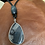 Thumbnail: Blue Marble Agate Stone Necklace