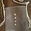 Thumbnail: Gray leather purse adorned with cowey shells